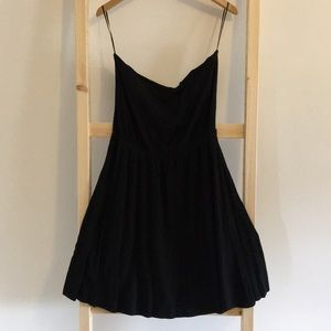 3/$12 Strapless Black Cover Up/Dress